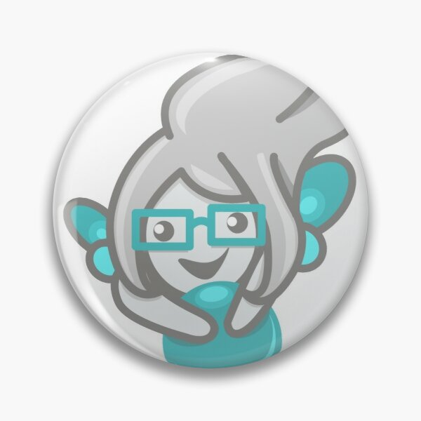 codepixie Maskottchen - Nunu Button