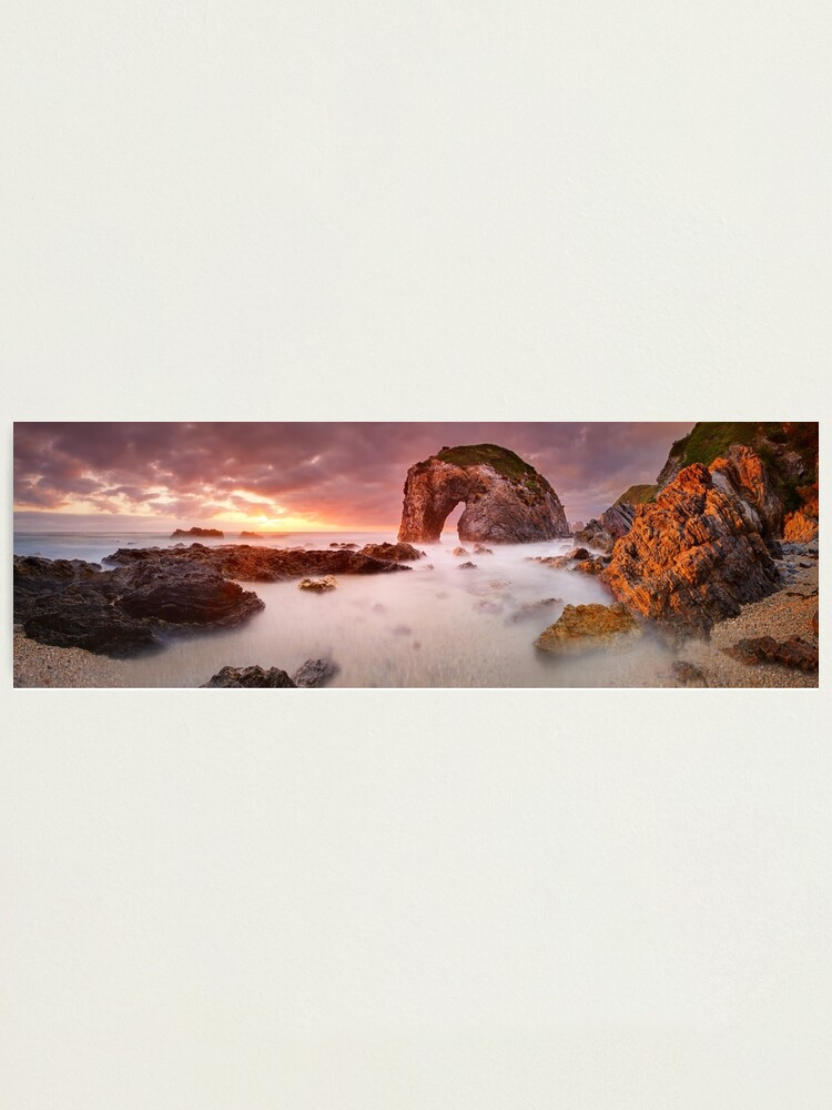 Alternate view of Horse Head Rock Dawn, Bermagui, New South Wales, Australia Photographic Print