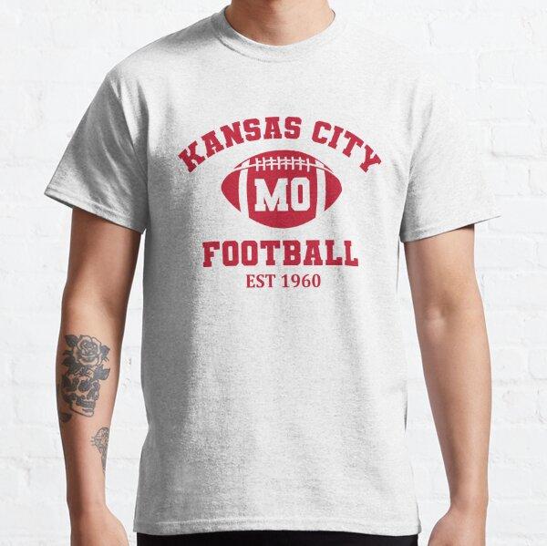 Kansas City Football Est 1960 Vintage Classic T-Shirt