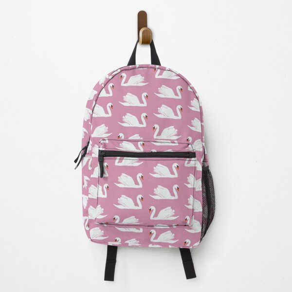 Pink Swan Backpack