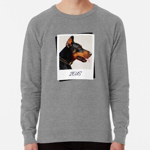 Doberman Zeus Design Lightweight Sweatshirt