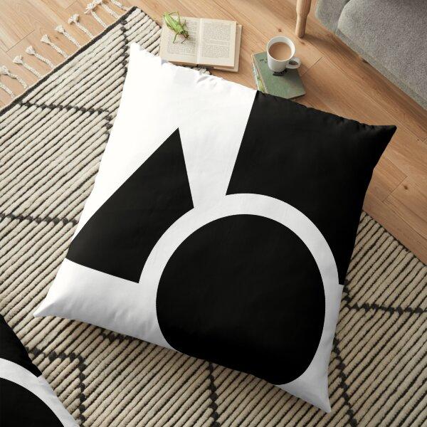 logotype artwork Floor Pillow