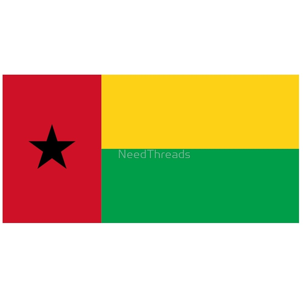 Guinea-Bissau Flag by NeedThreads
