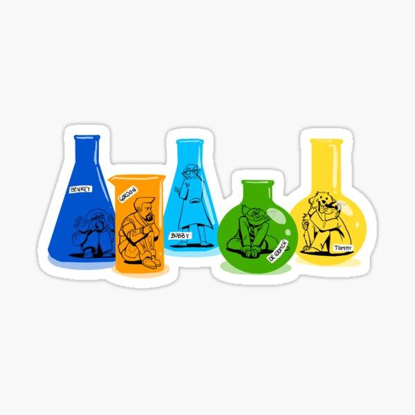 The Science Team Sticker