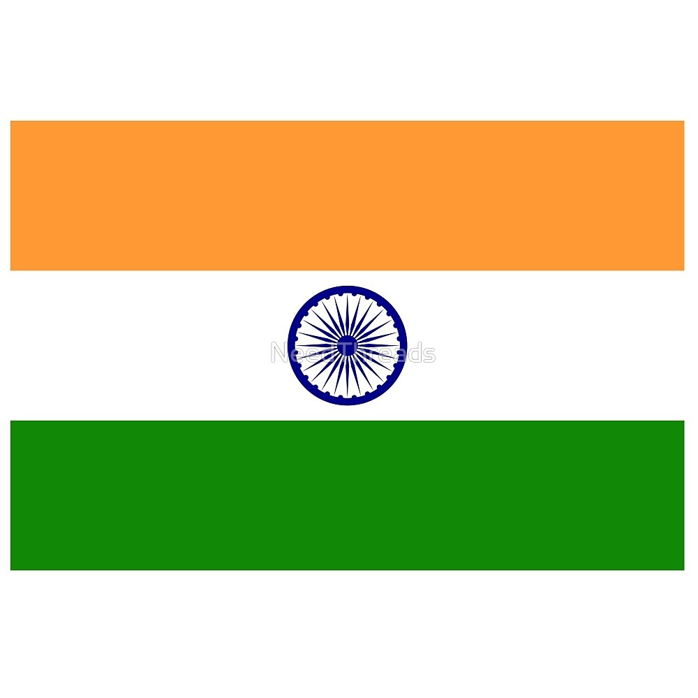 India Flag by NeedThreads