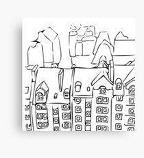 ROOFTOP Canvas Print