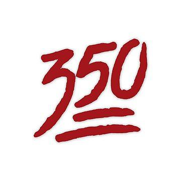 YEEZY 350 RED by FabianB-