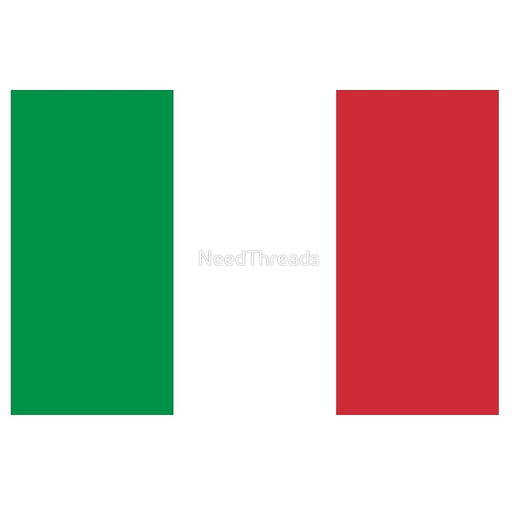 Italy Flag by NeedThreads