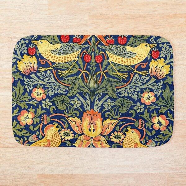 William Morris - Strawberry Thief Bath Mat