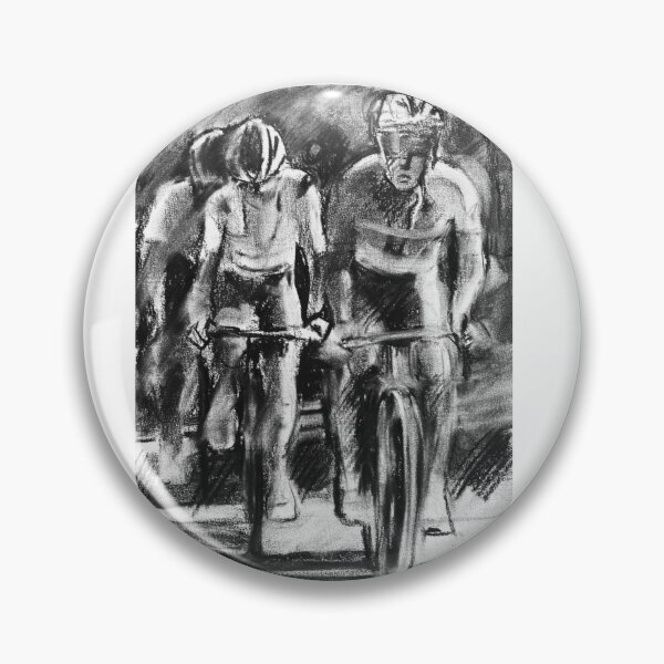 Stage 10 Charcoal Sketch Pin