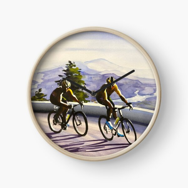 Climbing The Grand Colombier Stage 15 Clock