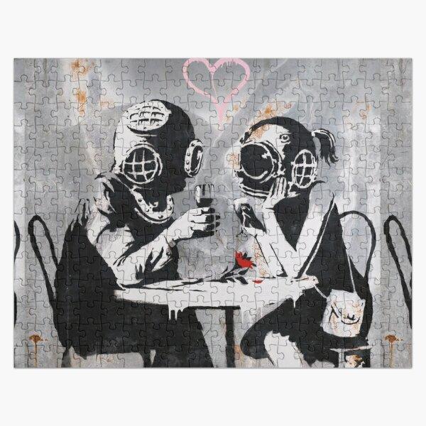 Couple de rencontres Banksy Street Art Think Tank Puzzle