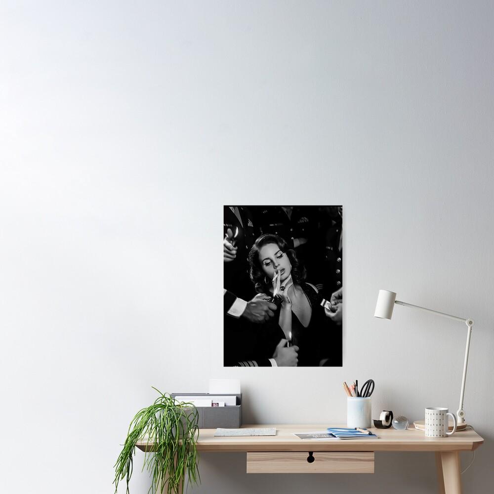 Beauty Lana Smoking Poster