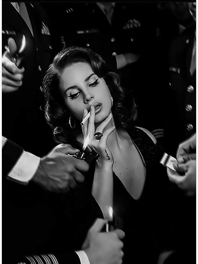 Beauty Lana Smoking by elenorbloom
