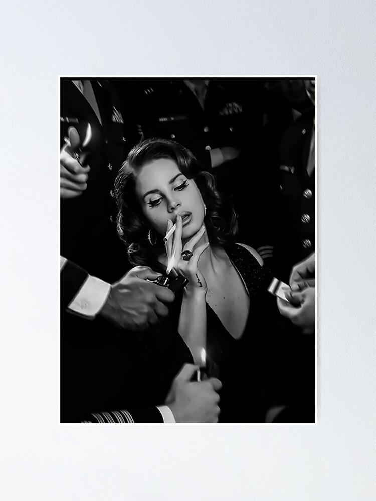 Alternate view of Beauty Lana Smoking Poster
