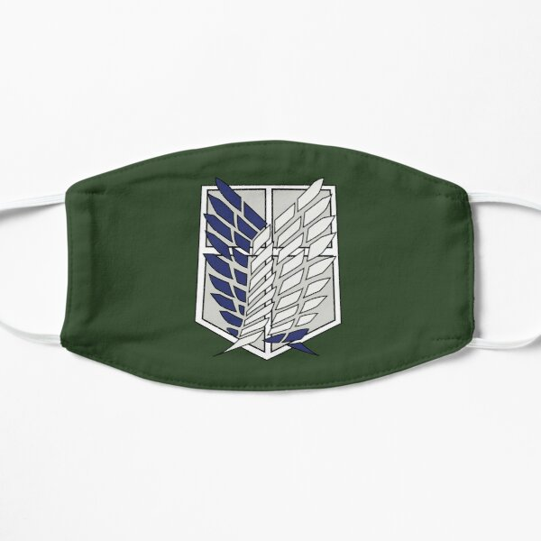 Attack on Titan Scouts Logo  Flat Mask