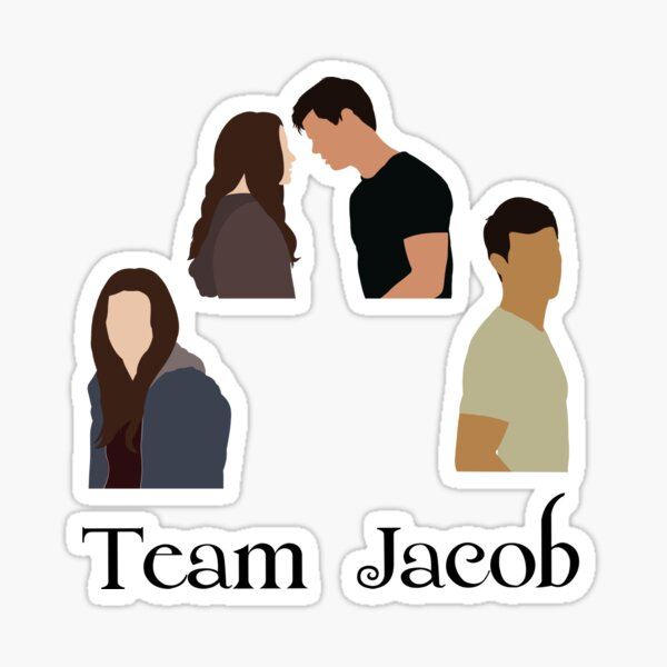 Team Jacob stickers pack twilight Sticker