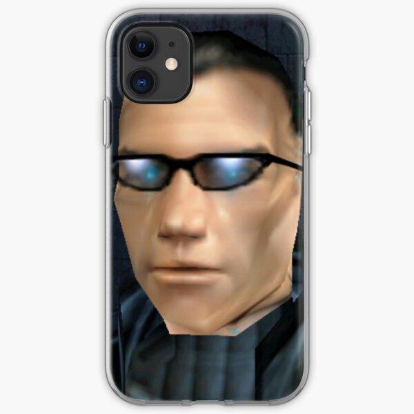 JC with Glasses, Deus Ex, JC Deus Ex, Deus Ex Meme, JC Meme, JC Deus Ex Meme iPhone Soft Case