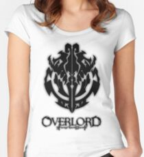 Overlord Anime Guild Emblem - Ainz Ooal Gown Women's Fitted Scoop T-Shirt