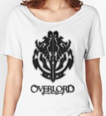Overlord Anime Guild Emblem - Ainz Ooal Gown Women's Relaxed Fit T-Shirt