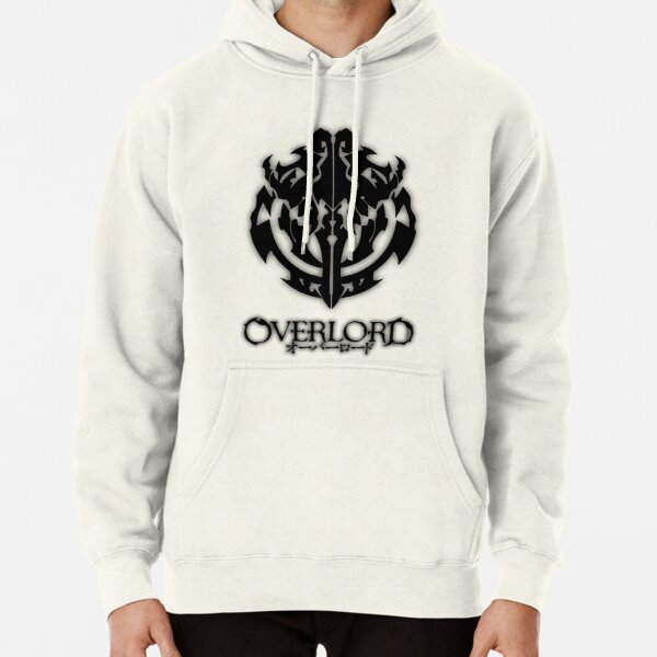 Overlord Anime Guild Emblem - Ainz Ooal Gown Pullover Hoodie