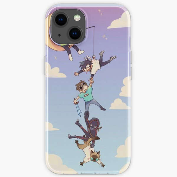 Technoblade Moon iPhone Soft Case