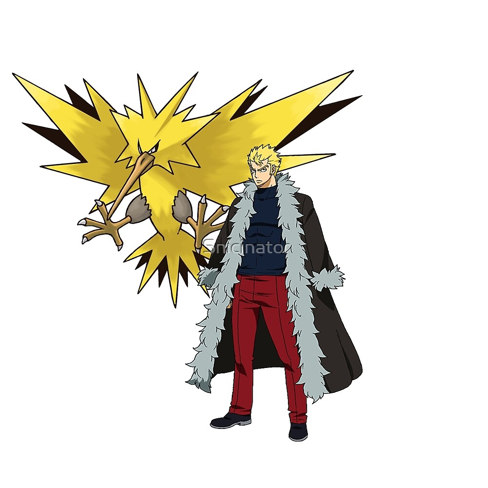 Laxus and Zapdos by Snicinator