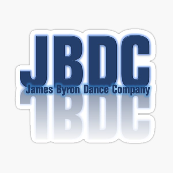 James Byron Dance Company Sticker