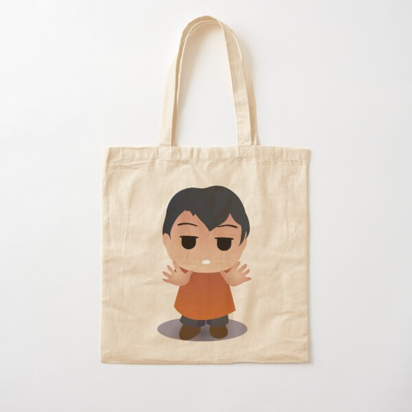 RED BORED Cotton Tote Bag