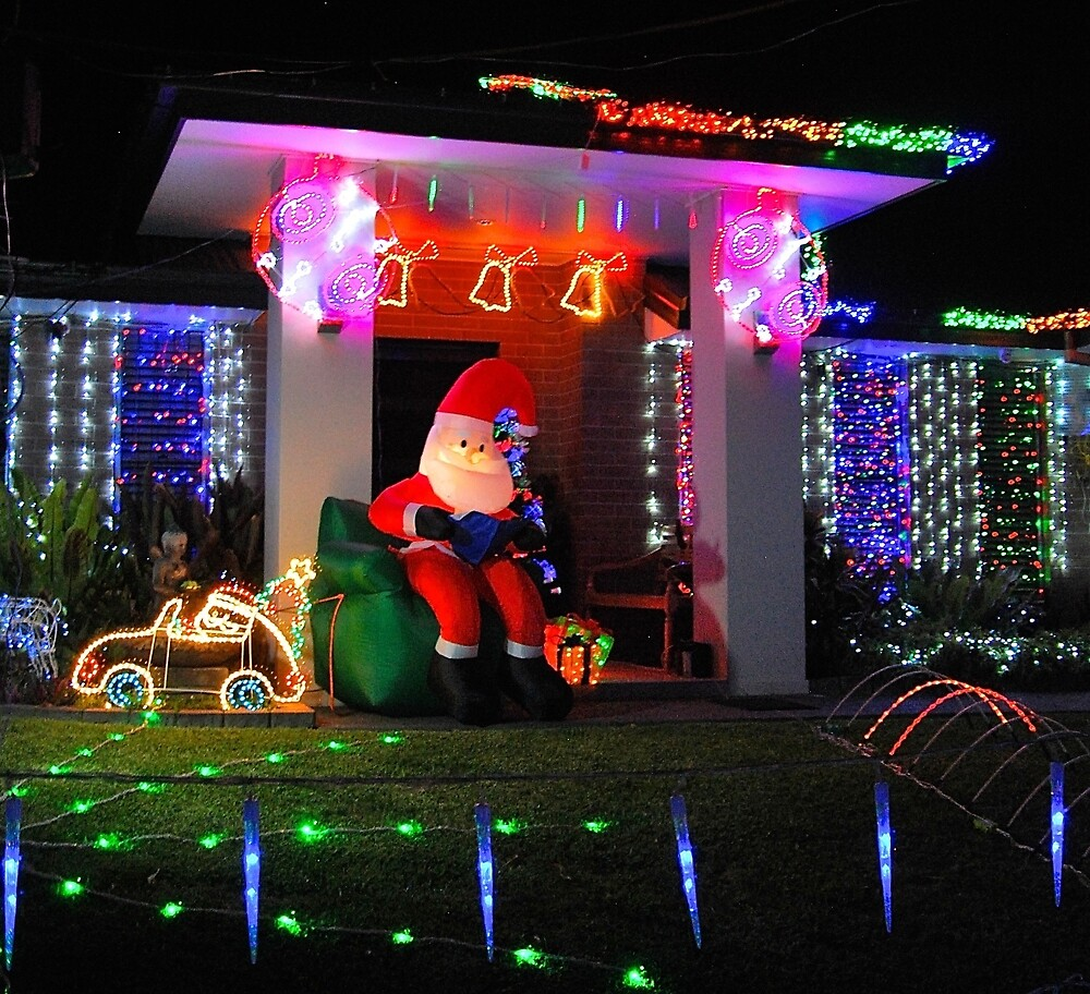 Relaxing Santa by Penny Smith