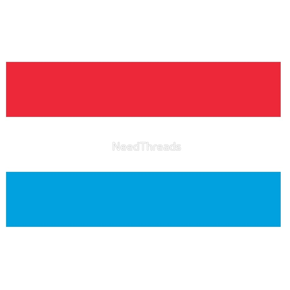 Luxembourg Flag by NeedThreads