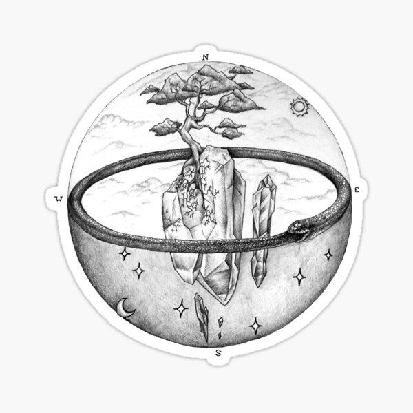 a dimension of alchemy  Sticker