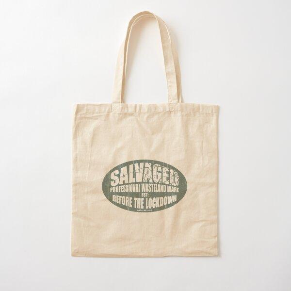 Aged SALVAGED Ware plain logo Cotton Tote Bag