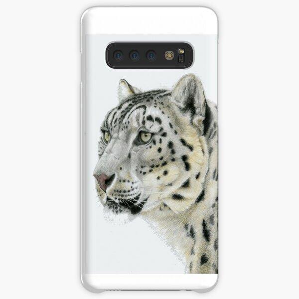 Snow Leopard Portrait (left) Samsung Galaxy Snap Case