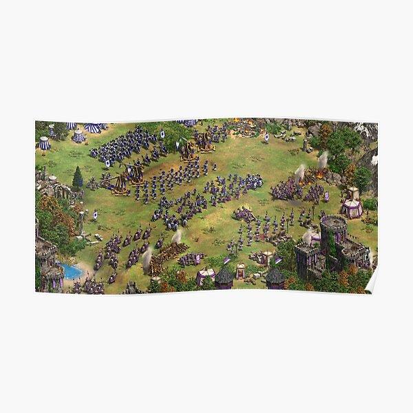 Age of Empires II Krieg Screenshot Poster