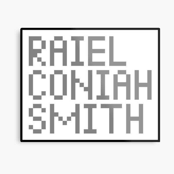 Raiel Coniah Smith 1.0 Metal Print