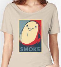 Chub Dislikes Smoke! Women's Relaxed Fit T-Shirt