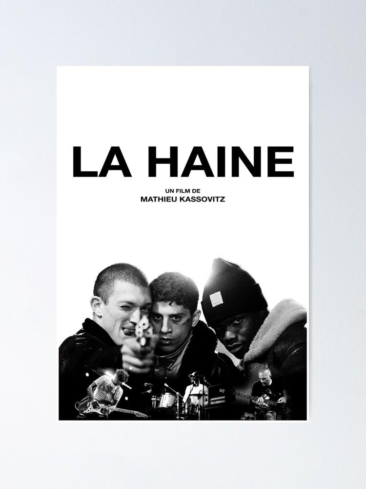 273478 la haine 1995 Classic Movie Film Imprimé Brillant Poster UK