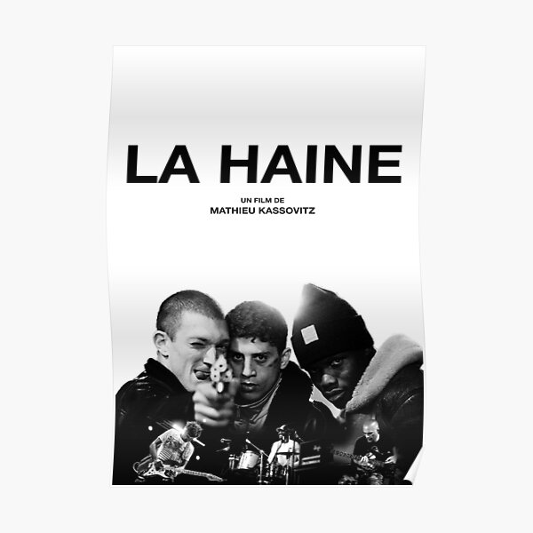 Copy of La Haine Poster Film Movie Poster