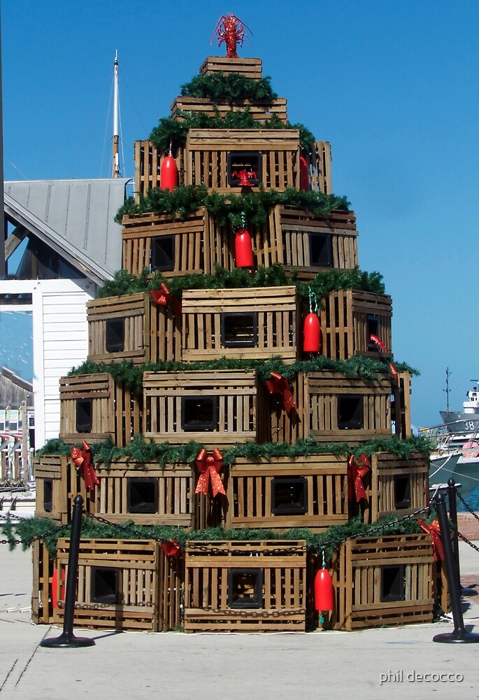 Harborside Christmas Tree by phil decocco