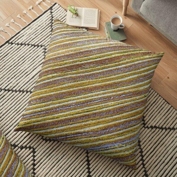 Rice plantation pattern Floor Pillow