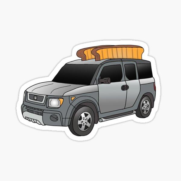 Honda Element Toaster Sticker