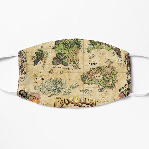 Everquest World of Norrath Karte Flache Maske