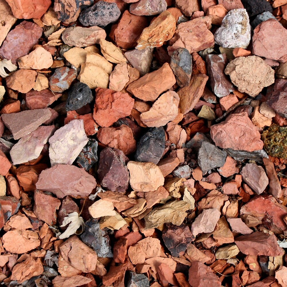 COLORED ROCKS by johnhunternance