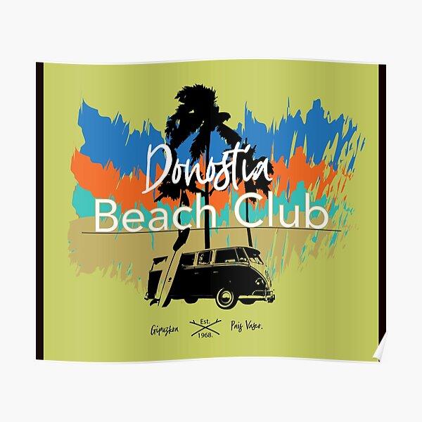 Donostia Beach Club Póster