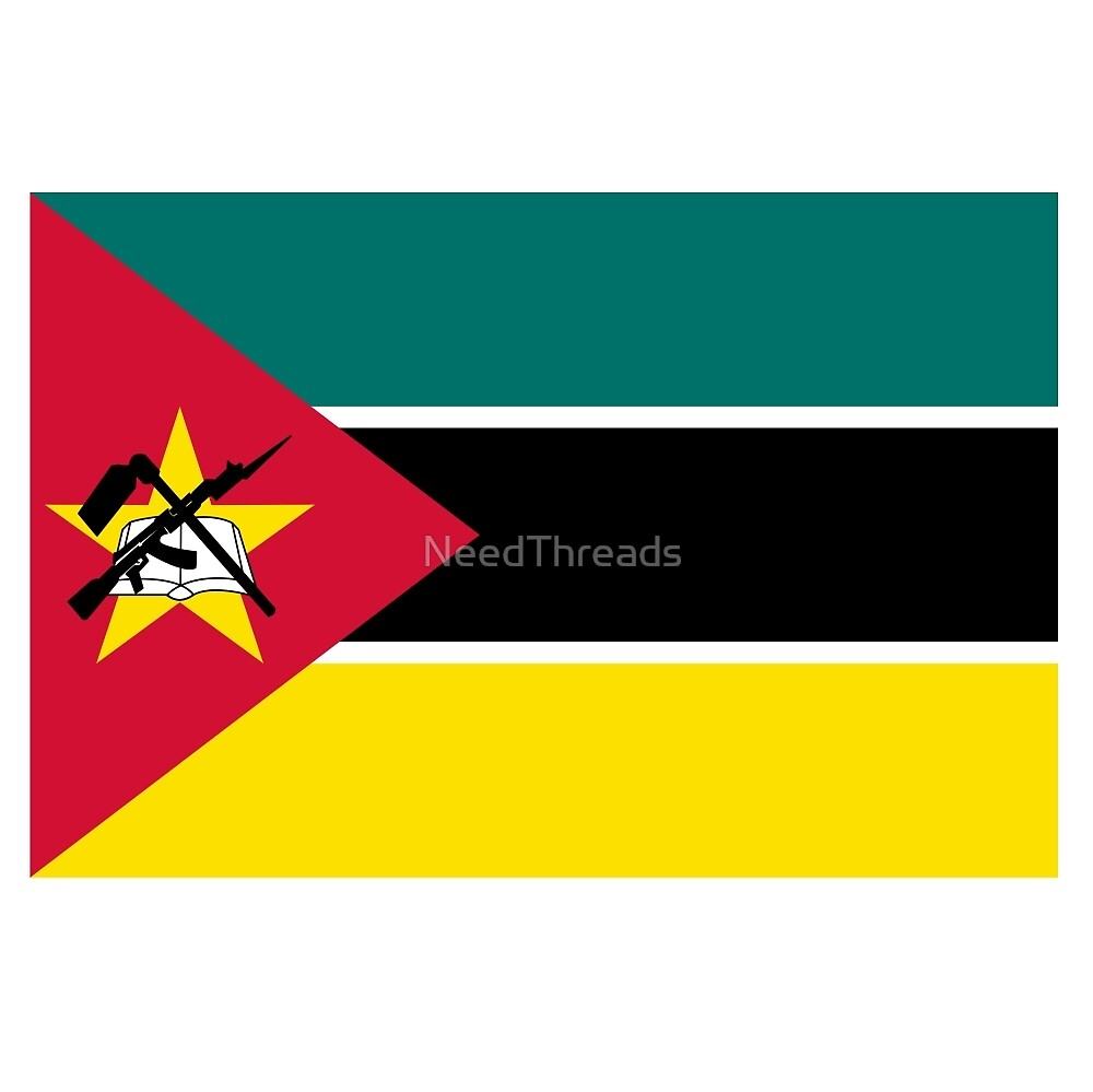 Mozambique Flag by NeedThreads