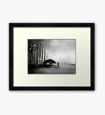 Little Red Riding Hood - In Denial Framed Print