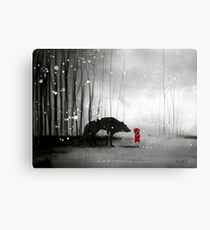 Little Red Riding Hood - In Denial Canvas Print