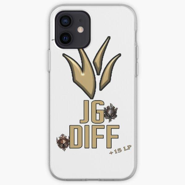 Jungle Difference Meme - League Of Legends Coque souple iPhone