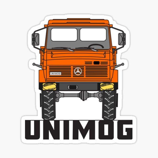 Unimog U1600 orange Sticker